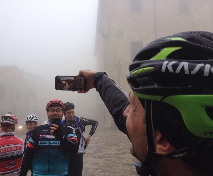San Leo im Nebel